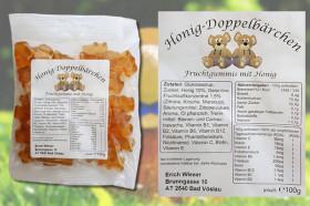 Honig-Doppelbärchen