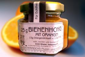 Honig mit Orangen