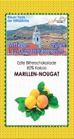 Marillen-Nougatschokolade