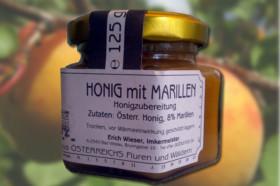 Honig mit Marillen