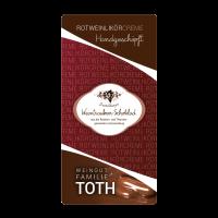 Lutschburger Weintrauben-Schoklad´ / Rotweinlikörcreme
