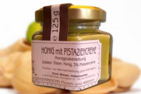 Honig mit Pistatiencreme