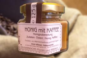 Honig mit Kaffee