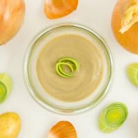 Bio Kartoffel Lauch Creme Suppe - vegetarisch