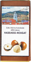 Haselnuss-Nougatschokolade