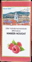 Himbeer-Nougatschokolade