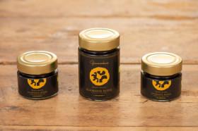 BIO Schwarze Nüsse (Trüffelnuss), fein geschnitten-klassisch