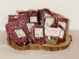 Pärchen-Mischpaket 6kg inkl. Beiried - Bioweidebeef dry-aged