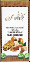 Nussschokolade Dreierlei Bio vegan