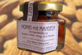 Honig mit Mandeln