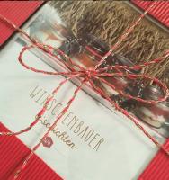 Geschenk Box in Rot oder Natur