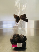 Nougat Herzen dunkle Schokolade
