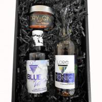 Blue-Gin-Geschenkset BBQ