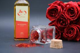 Bio-Olivenöl Safran