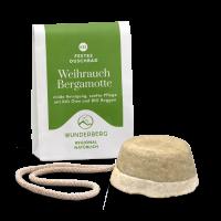 Festes Duschbad Weihrauch - Bergamotte