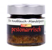 Bio Knoblauch-Mandelpesto