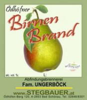 Birnen Brand