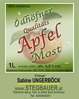 Qualitäts Apfel Most