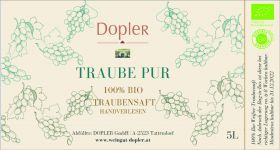 BIO Traube Pur 5l Bag-in-Box
