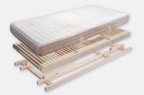 "Villgrater Natur Bett Set ""mittelfest"" - 90x190cm"