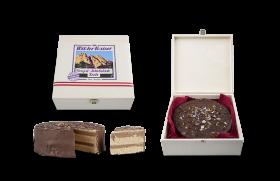 Wilder Kaiser Nougat-Schoko-Waffel-Torte