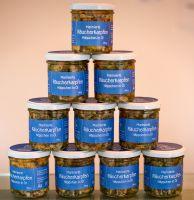Räucherkarpfen Häppchen  in Öl 100g (mild oder pikant)