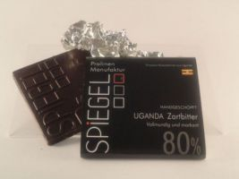 Uganda 80% Schokoladentafel