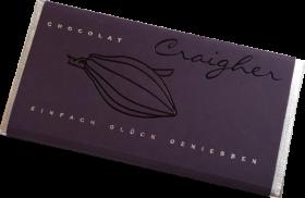 Zwetschke Zartbitterschokolade
