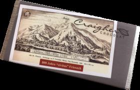 """""""800 Jahre civitas Friesach"""" - Zartbitterschokolade"""