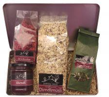Dirndlfrühstücksbox - Kennenlernpaket inkl. Versand