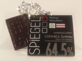 Costa Rica 64,5% Schokoladentafel