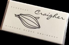 Franz. Haselnuss Mandelnougat - Weiße Schokolade