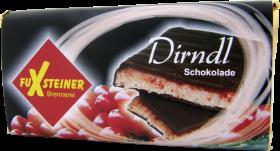 Dirndl-Schokolade