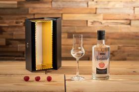Apfelino Himbeer-Edelbrand in Geschenkpackung 0,35 L