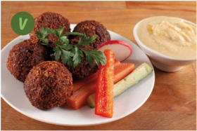 BIO Falafel + Hummus, 5 Stück