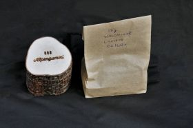 Holzbox inkl. Alpengummis lose