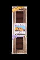 Wilder Kaiser dunkle, Feinbitter-Schokolade mit Haselnüsse