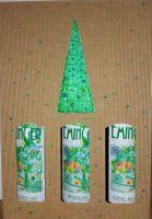 Weihnachtliches Geschenkpaket 3er-Karton fruchtige Weißweine