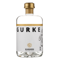 "Gin "" Gurke"" 43% Vol. KUKMIRN Destillerie Puchas"