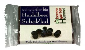 Weinviertler Bio Himbeerschokolade