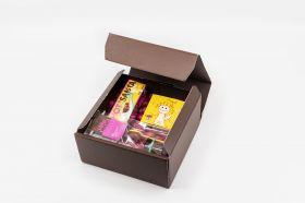Kleine Schoko Geschenkbox