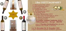 18er Festtagspaket inkl. Glühweinpaket vom Weingut Christen