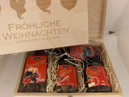 Apfelino Holzkassette mit 4 Produkten Set Nr. 24