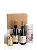 Premium Rot mit Vogelfutter & Honig Genusspaket