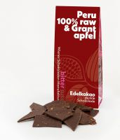 100% Peru, raw & Granatapfel