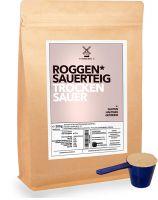 Roggen-Sauer-Teig-Pulver getrocknet