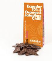 70% Ecuador Orange & Jalapeno Chili