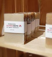 Alpakaseife - Seife aus Alpakakeratin