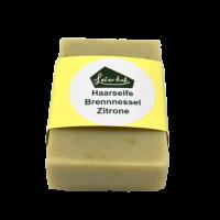 Haarseife Brennnessel & Zitrone