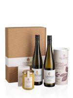 Premium Weiss mit Vogelfutter & Honig Genusspaket